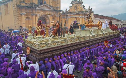 Procesiones en Antigua Guatemala 2021