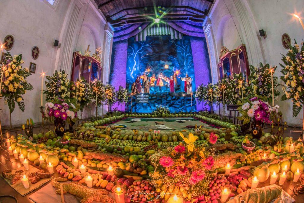 Velaciones de semana santa en Antigua Guatemala