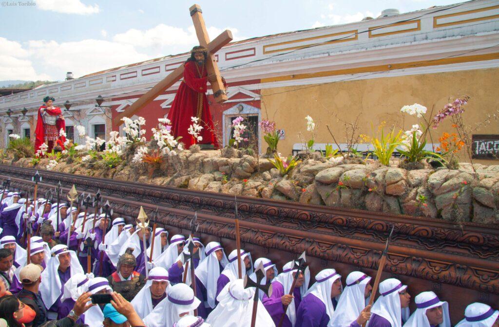 Semana santa en Antigua Guatemala 2021