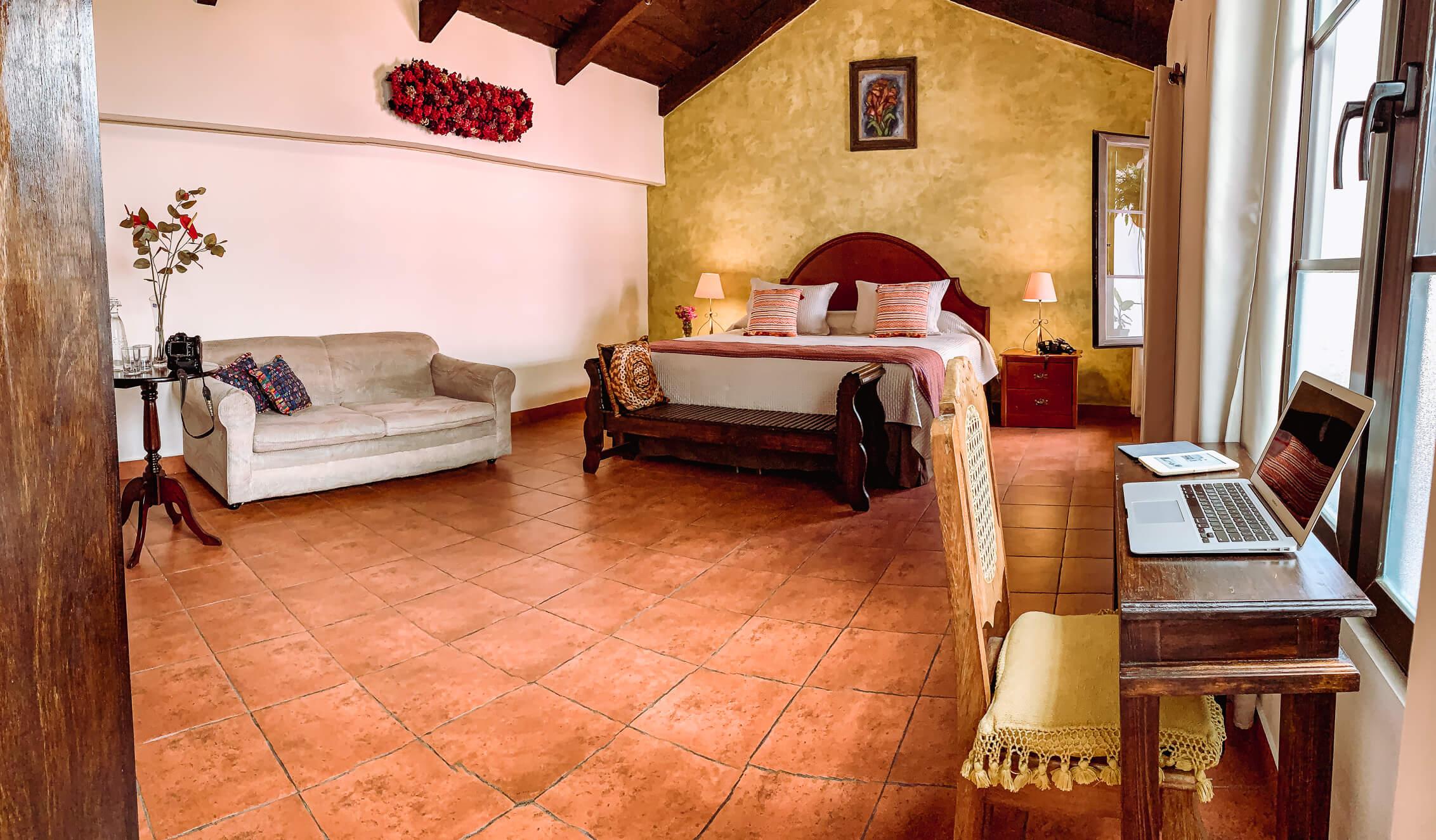 Hotel económico en Antigua Guatemala